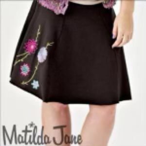 Matilda Jane Women's Medium Stellar Skirt
